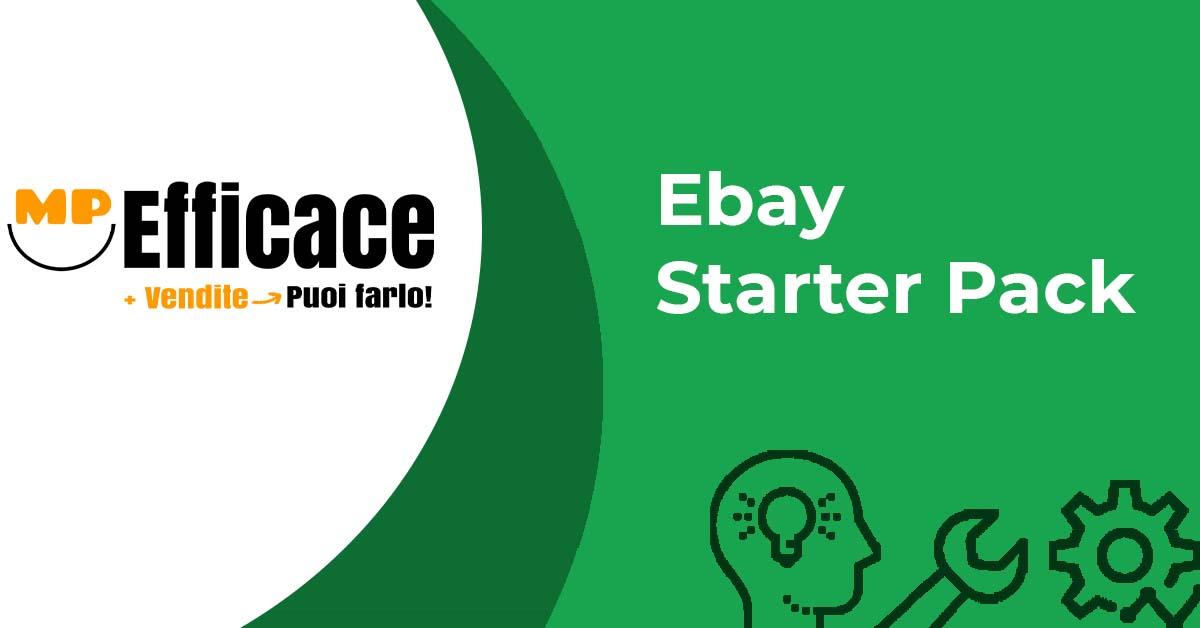 Iniziare a vendere su Ebay Ebay Starter Pack - Vendere su Ebay